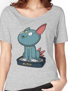 Cutey Kitty Women's Relaxed Fit T-Shirt