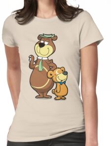 Picnic Basket Duo Womens Fitted T-Shirt