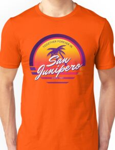 San Junipero Black Mirror Together Forever Unisex T-Shirt
