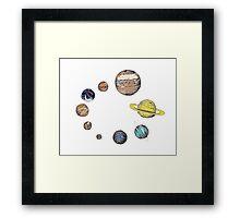 Planets Framed Print