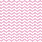 Pink and White Chevron Pattern by Natalie Kinnear