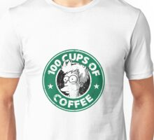 100 cups of coffe fry Unisex T-Shirt