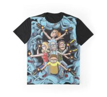 Rick And Morty Mr Meeseek Graphic T-Shirt