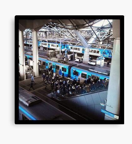 City Cogs Canvas Print
