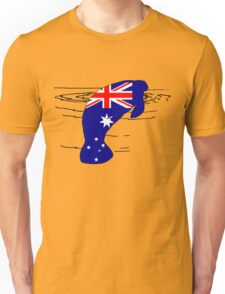 Australian Flag - Manatee Unisex T-Shirt