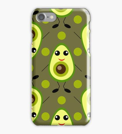 Cute Avocado iPhone Case/Skin