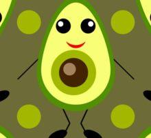 Cute Avocado Sticker