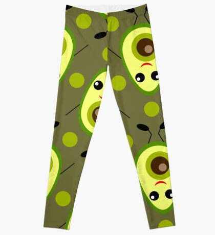 Cute Avocado Leggings