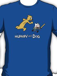 Human&Dog T-Shirt