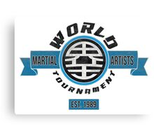 The World Tournament Fancy Canvas Print