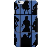 Tales of Xillia 2 - Character Roster (Blue) iPhone Case/Skin