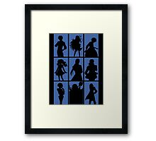 Tales of Xillia 2 - Character Roster (Blue) Framed Print