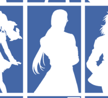 Tales of Xillia 2 - Character Roster (Blue) Sticker