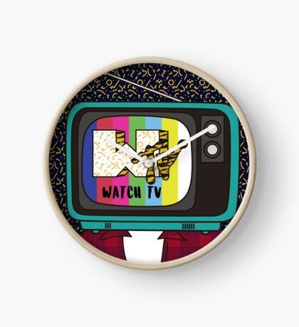 Watch TV!! Clock