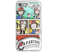 Aperture Pokeballs iPhone Case/Skin