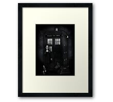 The Girl Who Waited...to kill you. Framed Print