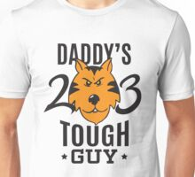 Daddy's Tough Guy - Tiger - Kid's Sports Football Baseball Backetball  Unisex T-Shirt