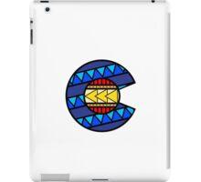 Colorado Tribal Flag: True Colour iPad Case/Skin