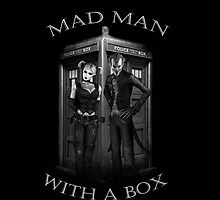 Mad Man outside a Box by StrangeDevotion