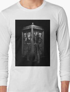 Mad Man outside a Box Long Sleeve T-Shirt