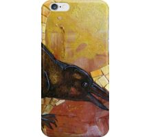 Crow's Day In The Sun iPhone Case/Skin