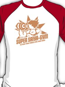 Super Saiya-Gym T-Shirt