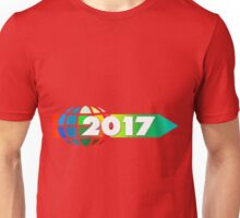 arrow direction new year's day new year's eve year Unisex T-Shirt