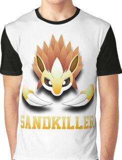 Sandkiller SrWhite Graphic T-Shirt