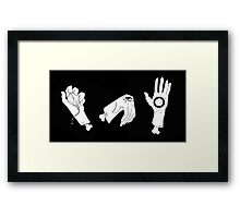 Time See's All Framed Print