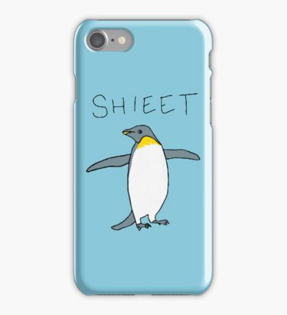 shieet a penguin iPhone Case/Skin