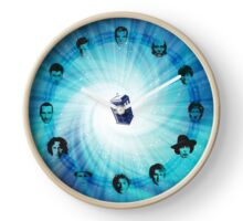 Doctor Who (Faces All) Clock Clock