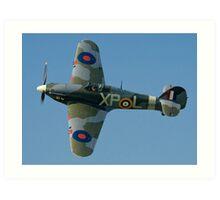 Hurricane IIB BE505/XP-L G-HHII banking in the sunshine Art Print
