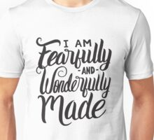 I am Fearfully and Wonderfully Made Christian Kid Unisex T-Shirt