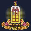 Yellow Time Machine 2014 by Baznet