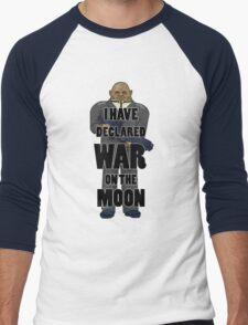 War on the Moon Men's Baseball ¾ T-Shirt