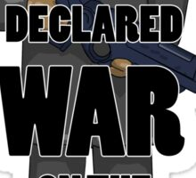 War on the Moon Sticker