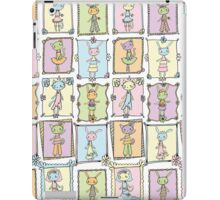 Dress Up Time Pattern iPad Case/Skin