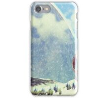 On an icy moon iPhone Case/Skin