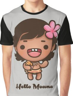 Hello Moana Graphic T-Shirt