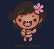 Hello Moana Kids Tee