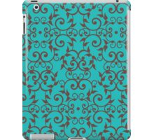 Scrolls and Leaves Pattern iPad Case/Skin
