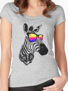 Cool Zebra Women's Fitted Scoop T-Shirt
