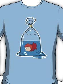Ponyo fishie bag !! T-Shirt