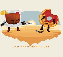 Old Fashioned Duel by mykowu
