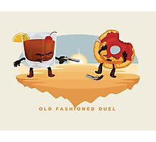 Old Fashioned Duel Photographic Print