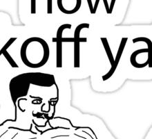 U wot m8 Sticker