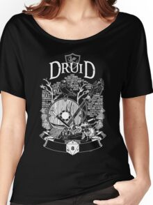 RPG Class Series: Druid - White Version Women's Relaxed Fit T-Shirt