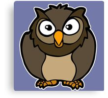 hibou chouette owl Canvas Print