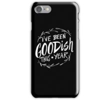 I've been goodish this year - funny Christmas Holiday iPhone Case/Skin