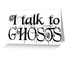 scary cool halloween horror ghosts cool dark darker t shirts Greeting Card